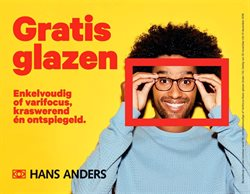 Opticien en Audicien Aanbiedingen in de Hans Anders folder in Born
