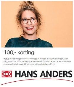 Aanbiedingen van Opticien in the Hans Anders folder ( Net gepubliceerd)