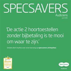 Opticien en Audicien Aanbiedingen in de Specsavers folder in Almere