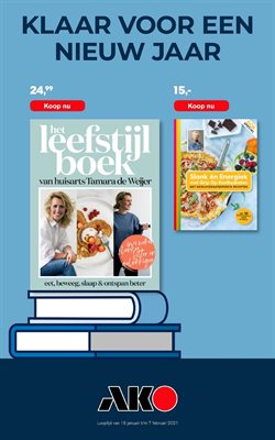 Boeken & Muziek Aanbiedingen in de AKO folder in Amsterdam ( Nog 16 dagen )