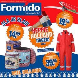 Bouwmarkt en Tuin Aanbiedingen in de Formido folder in Zwolle