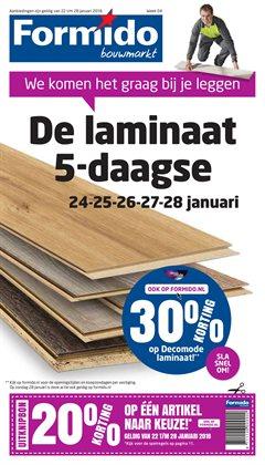 Bouwmarkt en Tuin Aanbiedingen in de Formido folder in Hoorn