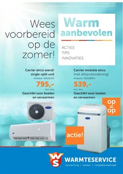 Aanbiedingen van Warmteservice in the Geleen folder