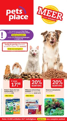 Catalogus van Pets Place ( Verloopt morgen )
