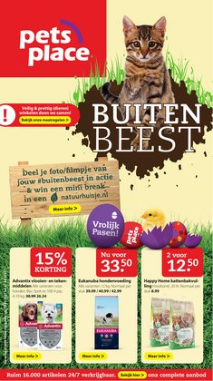 Aanbiedingen van Pasen in the Pets Place folder ( Verloopt morgen)