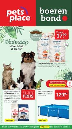 Aanbiedingen van Bouwmarkt & Tuin in the Pets Place folder ( Nog 5 dagen)