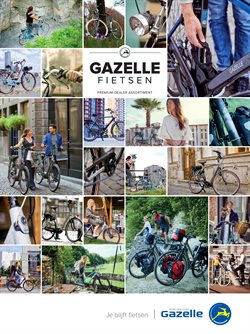 Aanbiedingen van Gazelle in the Breda folder
