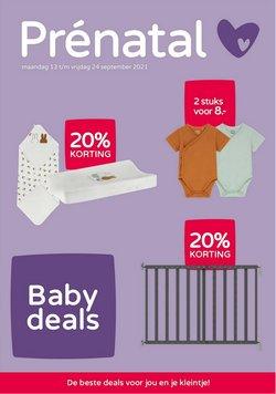 Aanbiedingen van Baby, Kind & Speelgoed in the Prenatal folder ( Nog 8 dagen)