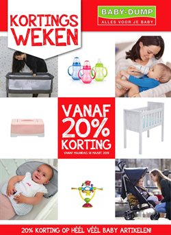 Aanbiedingen van Baby-dump in the Sliedrecht folder