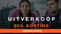 Aanbiedingen van Superdry in the Amsterdam folder