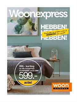 Aanbiedingen van Woonexpress in the Amsterdam folder