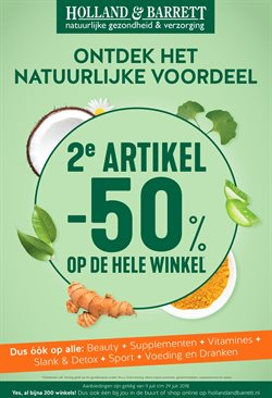 Drogist en Parfumerie Aanbiedingen in de Holland & Barrett folder in Almere