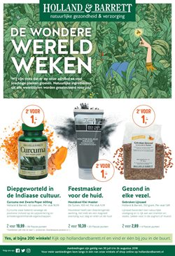 Aanbiedingen van Holland & Barrett in the Hoorn folder