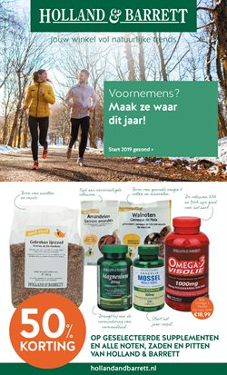 Aanbiedingen van Holland & Barrett in the Amsterdam folder