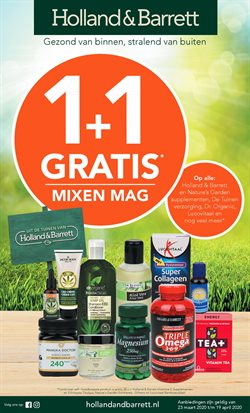 Catalogus van Holland & Barrett in Drachten ( Nog 9 dagen )