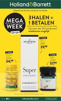 Aanbiedingen van Drogisterij & Parfumerie in the Holland & Barrett folder ( Nog 3 dagen)