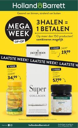 Aanbiedingen van Drogisterij & Parfumerie in the Holland & Barrett folder ( Nog 2 dagen)