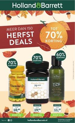 Aanbiedingen van Drogisterij & Parfumerie in the Holland & Barrett folder ( Nog 8 dagen)