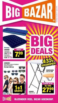 Aanbiedingen van Warenhuis in the Big Bazar folder ( Verloopt morgen)