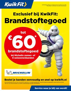 Aanbiedingen van Kwik-fit in the Amsterdam folder