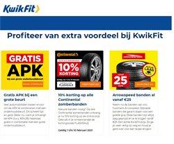 Aanbiedingen van Auto & Fiets in the Kwik-fit folder ( Nog 2 dagen )