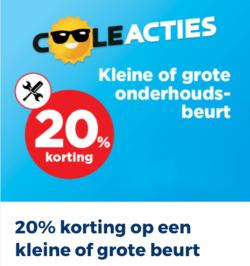 Aanbiedingen van Kwik-fit in the Amsterdam folder