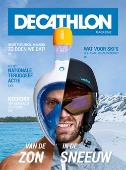 Aanbiedingen van Decathlon in the Amsterdam folder