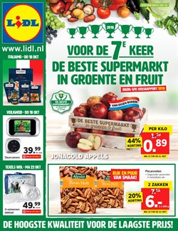 Aanbiedingen van Lidl in the Almere folder