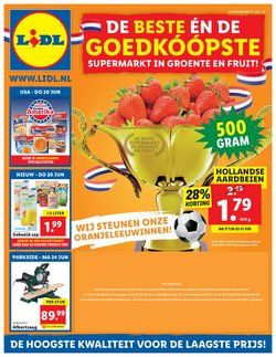 Supermarkt Aanbiedingen in de Lidl folder in Amsterdam