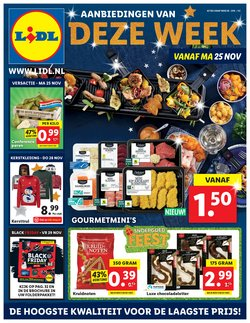 Supermarkt Aanbiedingen in de Lidl folder in Maarssen