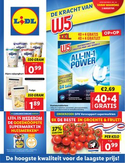 Aanbiedingen van Supermarkt in the Lidl folder ( Net gepubliceerd)