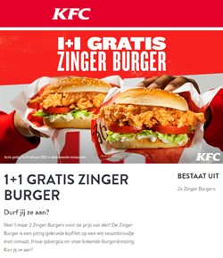 Catalogus van KFC ( Nog 6 dagen )