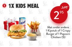 Aanbiedingen van KFC in the Rotterdam folder