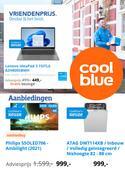 Catalogus van Coolblue ( Net gepubliceerd)