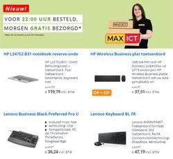 Aanbiedingen van Max ICT in the Max ICT folder ( Nog 15 dagen)
