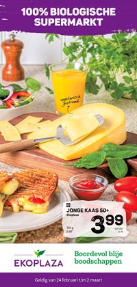 Aanbiedingen van Biomarkt in the Eko Plaza folder ( Net gepubliceerd )