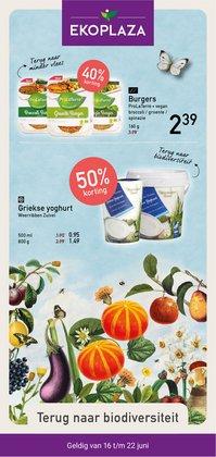 Aanbiedingen van Biomarkt in the Eko Plaza folder ( Net gepubliceerd)