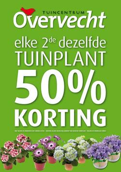Aanbiedingen van Tuincentrum Overvecht in the Den Haag folder