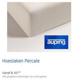 Aanbiedingen van Auping in the Auping folder ( Nog 3 dagen)