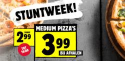 Aanbiedingen van Domino´s pizza in the Den Haag folder