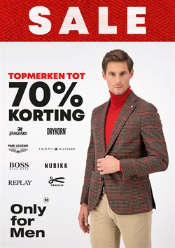 Catalogus van Only for Men ( Vervalt vandaag )