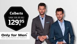 Aanbiedingen van Only for Men in the Helmond folder