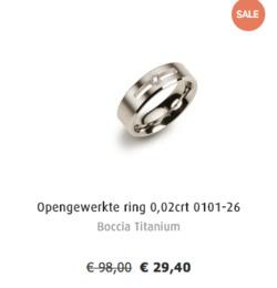 Aanbiedingen van Siebel juwelier in the Amsterdam folder