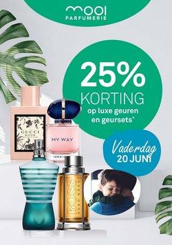 Aanbiedingen van Drogisterij & Parfumerie in the Mooi parfumerie folder ( Nog 5 dagen)