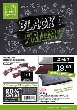 Aanbiedingen van Black Friday in the Dierspecialist folder ( Net gepubliceerd)