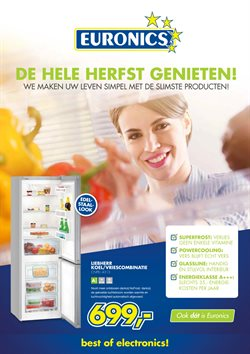 Computers en Elektronica Aanbiedingen in de Euronics folder in Maastricht