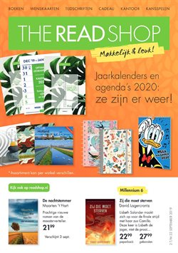 Aanbiedingen van The Read Shop in the Rotterdam folder