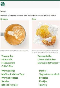 Aanbiedingen van Starbucks in the Starbucks folder ( Meer dan een maand)