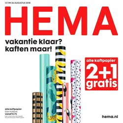 Aanbiedingen van Hema in the Vught folder