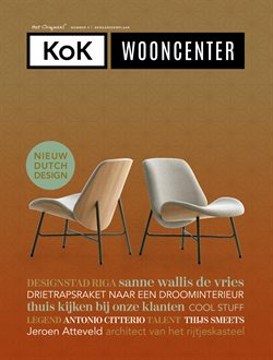 Aanbiedingen van Kok Wooncenter in the Hoogland folder